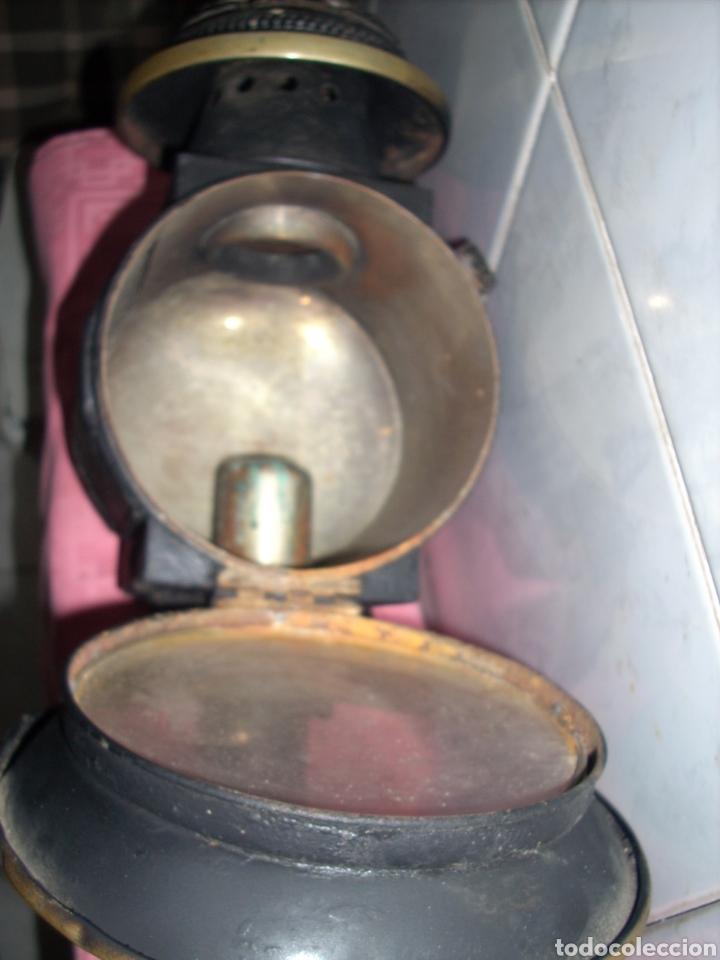 Antigüedades: Farol de Antigua maquina de Tren - Foto 11 - 160745110