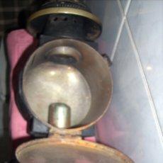 Antigüedades: FAROL DE ANTIGUA MAQUINA DE TREN. Lote 160745110