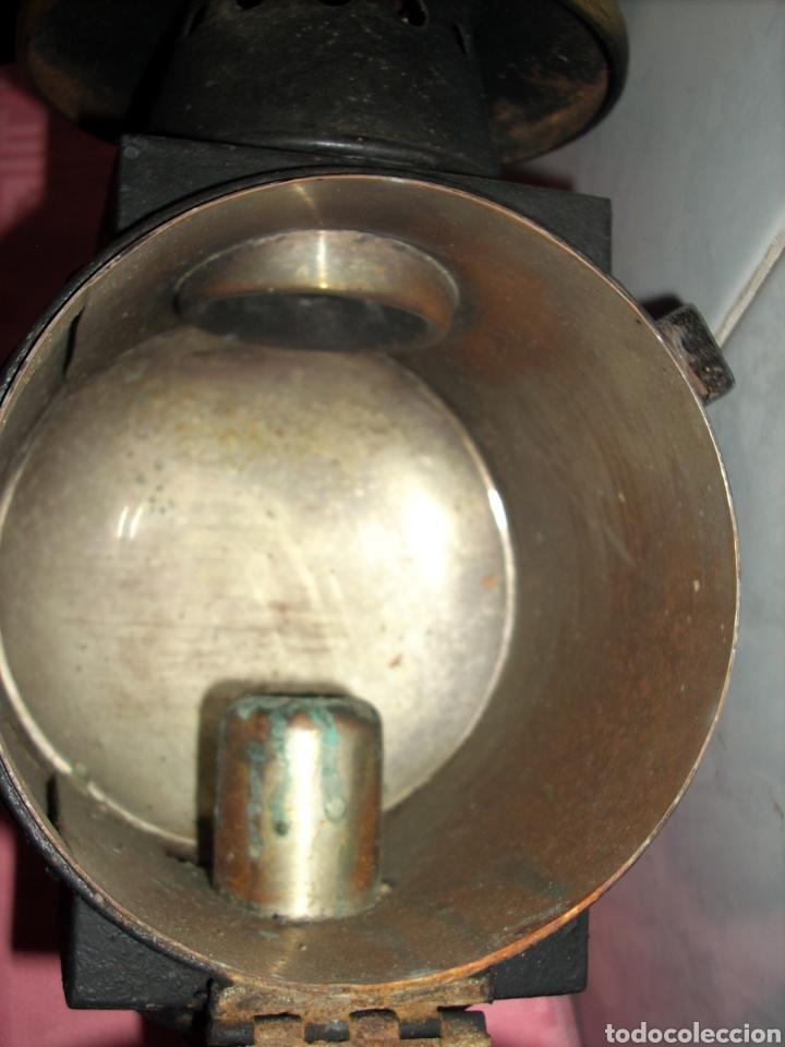 Antigüedades: Farol de Antigua maquina de Tren - Foto 12 - 160745110