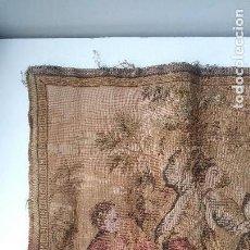 Antiques - TAPIZ COSTUMBRISTA 93 X 47 cm - 159584202