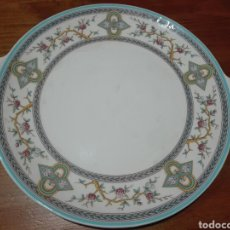 Antiquités: BANDEJA DE PORCELANA SAN CLAUDIO.. Lote 160749354