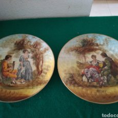 Antigüedades: PLATOS DECORADOS. Lote 160782664