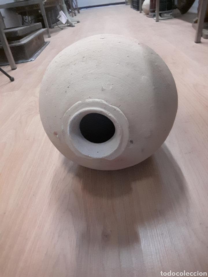 Antigüedades: ánfora perulera cántaro de barro perula botija de embarque triana S XVI XVII loza quebrada de bóveda - Foto 5 - 63598712
