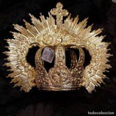 Antigüedades: CORONA CON IMPERIALES. Lote 160808398