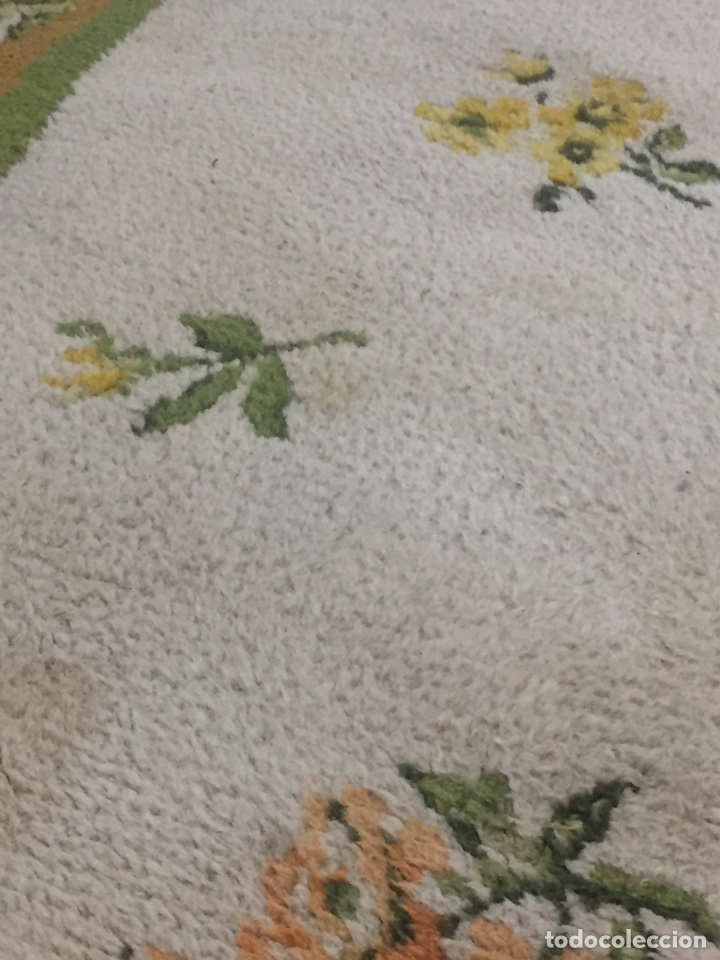 Antigüedades: Alfombra de lana anudada a mano 292x1.90 - Foto 3 - 160811165