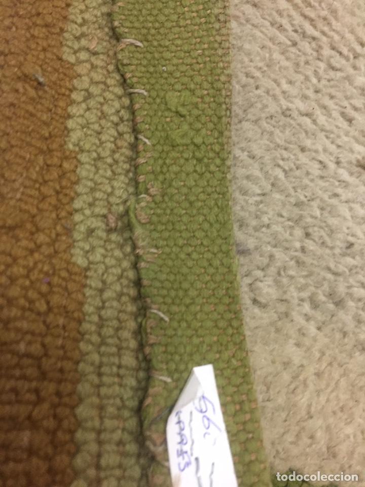 Antigüedades: Alfombra de lana anudada a mano 292x1.90 - Foto 6 - 160811165