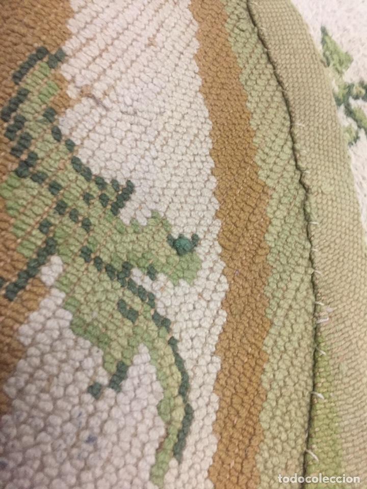 Antigüedades: Alfombra de lana anudada a mano 292x1.90 - Foto 8 - 160811165