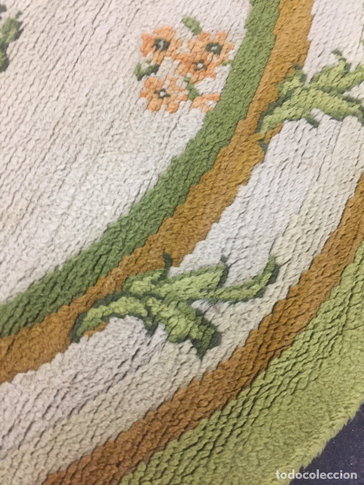 Antigüedades: Alfombra de lana anudada a mano 292x1.90 - Foto 9 - 160811165