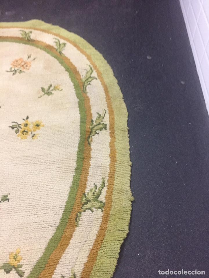 Antigüedades: Alfombra de lana anudada a mano 292x1.90 - Foto 12 - 160811165