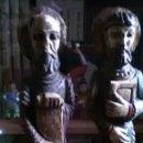 Antigüedades: APÓSTOLES, PABLO Y MATIAS. Lote 160833802