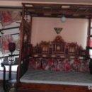 Antigüedades: CAMA CHINA ANTIGUA. Lote 160843438