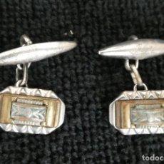 Antigüedades: GEMELOS ANTIGUOS. Lote 160843530