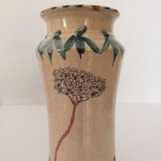 Antigüedades: RUIZ DE LUNA MÁLAGA ALBARELO O TARRO. Lote 160858782