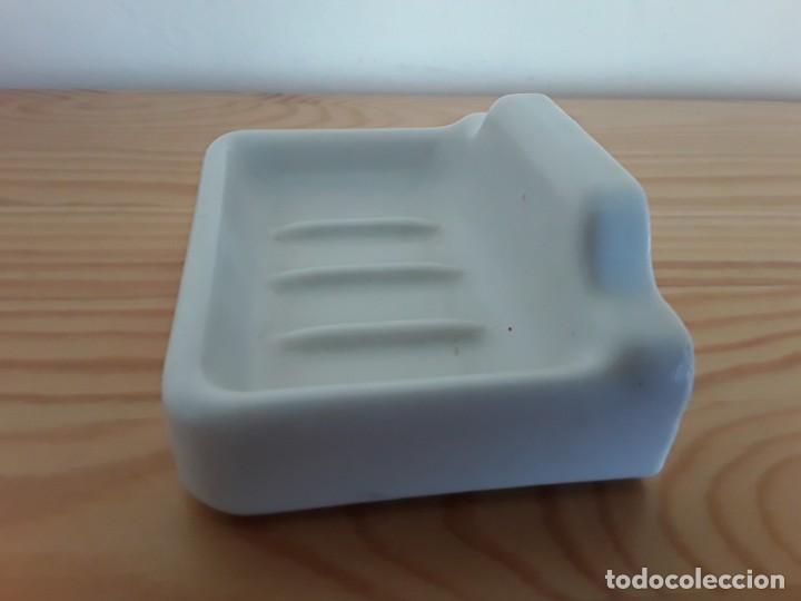Antigüedades: Antigua jabonera de cerámica - Foto 4 - 160865982