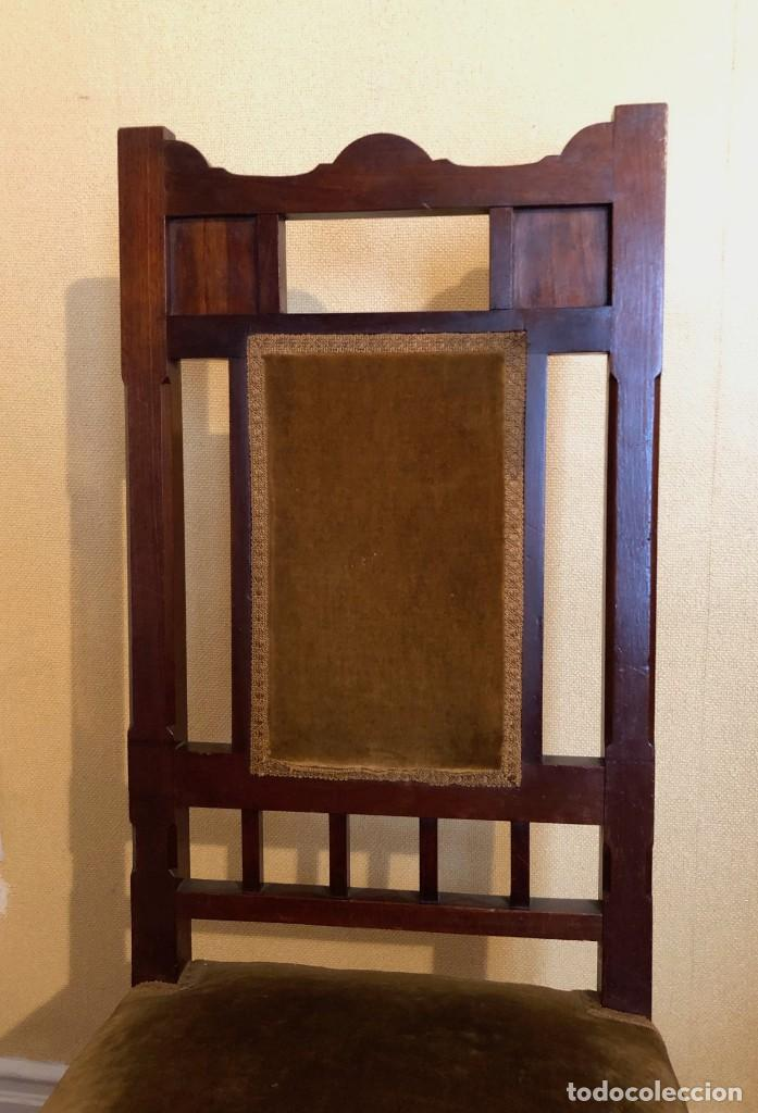 Antigüedades: Pareja sillas modernistas Primera mitad siglo XX - Foto 4 - 160869954