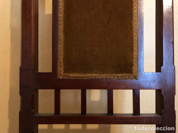 Antigüedades: Pareja sillas modernistas Primera mitad siglo XX - Foto 6 - 160869954