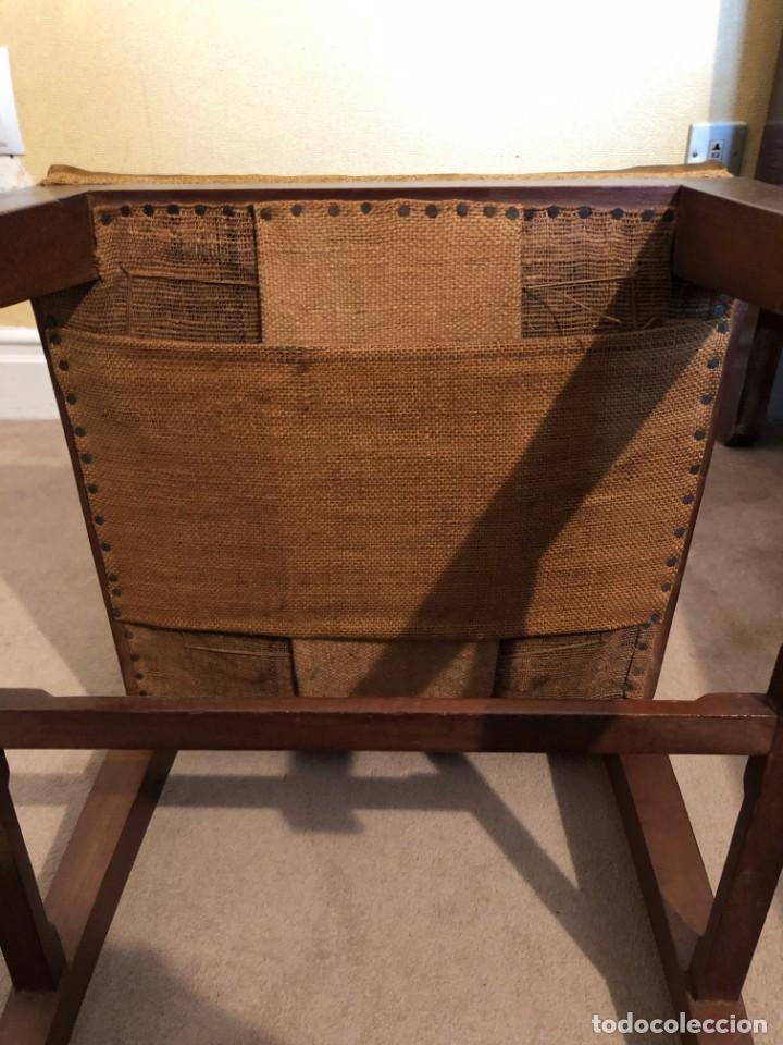 Antigüedades: Pareja sillas modernistas Primera mitad siglo XX - Foto 11 - 160869954