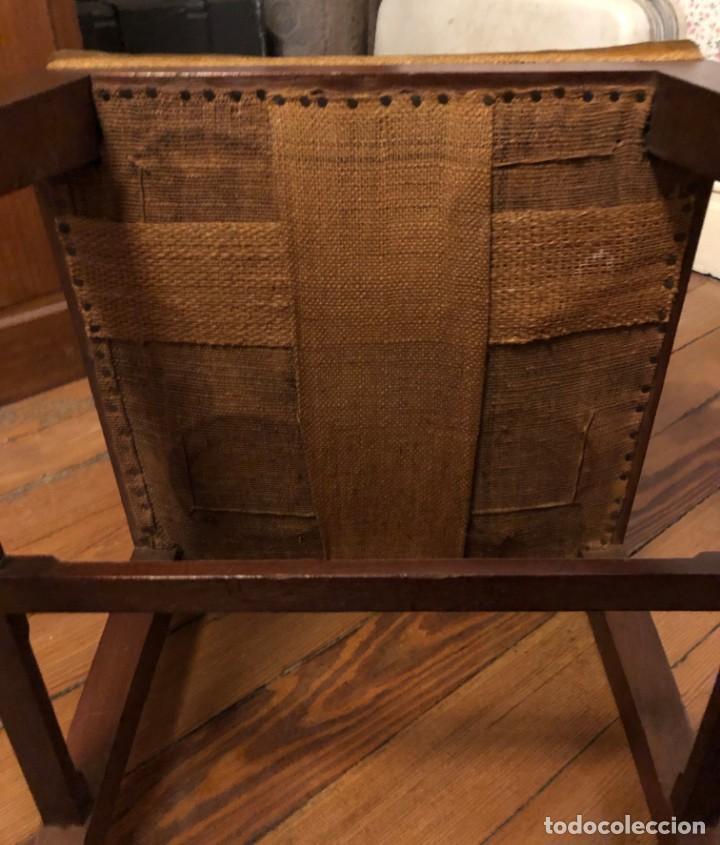 Antigüedades: Pareja sillas modernistas Primera mitad siglo XX - Foto 18 - 160869954