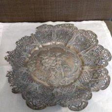 Antigüedades: PLATO FILIGRANA PLATA. Lote 160879958
