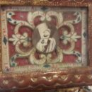Antigüedades: RELICARIO RELIQUIAS SAN BERNARDO LORENZO ANTONIO IGNACIO SANTA MARTA ESTEFANÍA MARCO BARROCO S.XVII. Lote 160895990