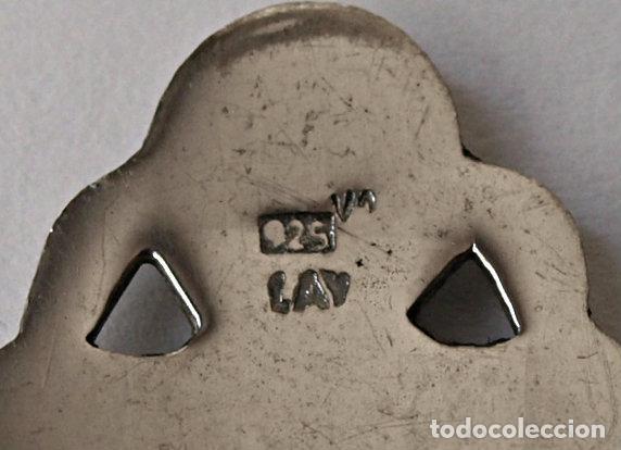 Antigüedades: CUCHARA CUCHARILLA DE PLATA DE LEY CONTRASTADA ZAMORA.11,6 CM LARGO.15 GRAMOS.VER FOTOS Y DESCRIPCIO - Foto 6 - 160969746