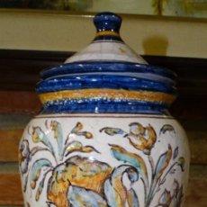 Antigüedades: ALBARELO CRAQUELADO AÑOS 50. M TORRES SEVILLA. Lote 160983338
