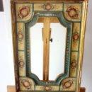 Antigüedades: ANTIGUO MARCO POLICROMADO. Lote 160985518
