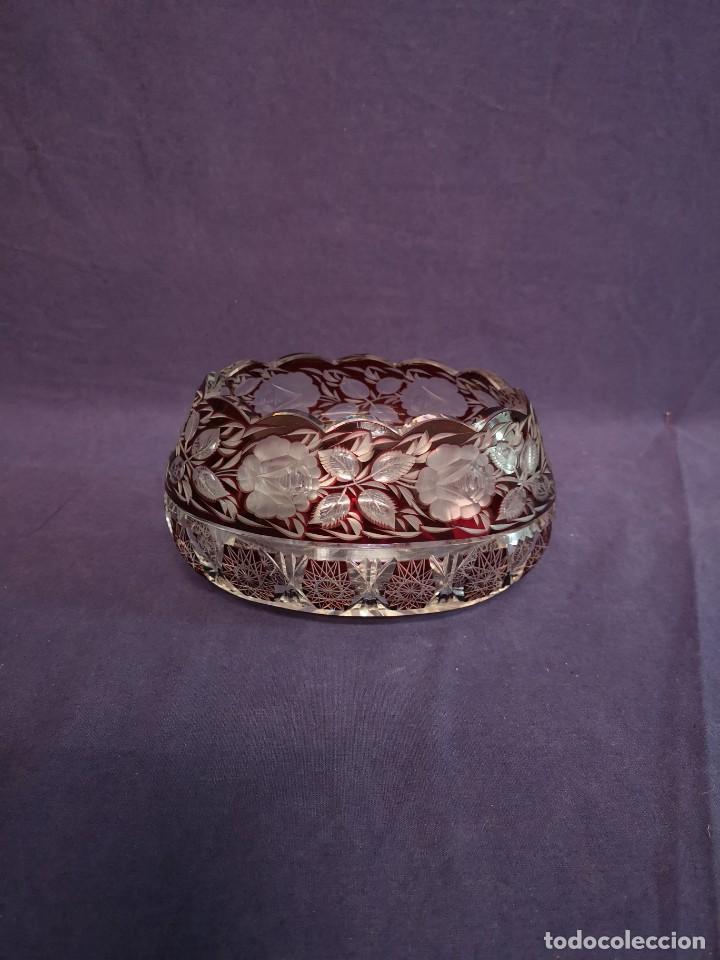 CENTRO EN CRISTAL DE BACCARAT (Antigüedades - Cristal y Vidrio - Baccarat )