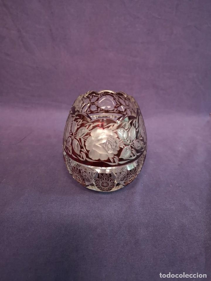 Antigüedades: CENTRO EN CRISTAL DE BACCARAT - Foto 3 - 160994494