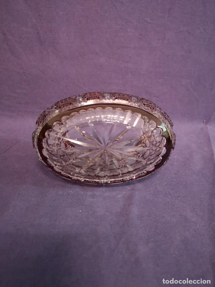 Antigüedades: CENTRO EN CRISTAL DE BACCARAT - Foto 6 - 160994494