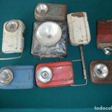 Antigüedades: 8 LINTERNAS ANTIGUAS DE DIVERSAS EPOCAS- LOTE 180. Lote 161004210