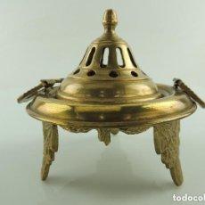 Antigüedades: BRACERO DE BRONCE MACIZO. Lote 161008686