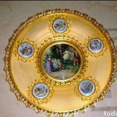 Antigüedades: PLATO DECORATIVO PARA COLGAR. Lote 47908797