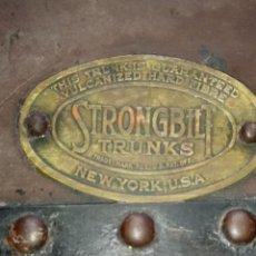 Antigüedades: BAUL ANTIGUO. Lote 161091937