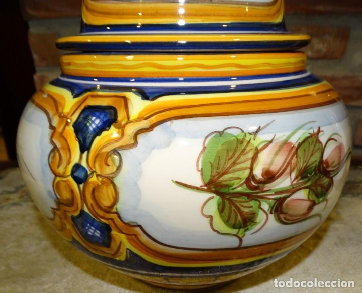 Antigüedades: JARRÓN , TIBOR EN CERÁMICA. CATALINA ALCAIDE.CERAMISTA FRENTE ARTESANOS DE LA RAMBLA DE TALAVERA - Foto 5 - 161112794