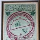 Antigüedades: CARTEL DE TOROS EN SEDA, PUERTO DE SANTA MARIA 1958. Lote 161113474