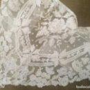 Antigüedades: ANTIGUO Y MARAVILLOSO CUELLO DE APLICACIÓN O BRUSELAS . Lote 161113558