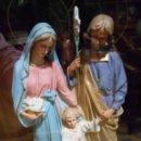 Antigüedades: ANTIGUA CAPILLA LIMOSNERA CON IMAGEN DE LA SAGRADA FAMILIA DE OLOT - FALTA LLAVE -. Lote 161166766