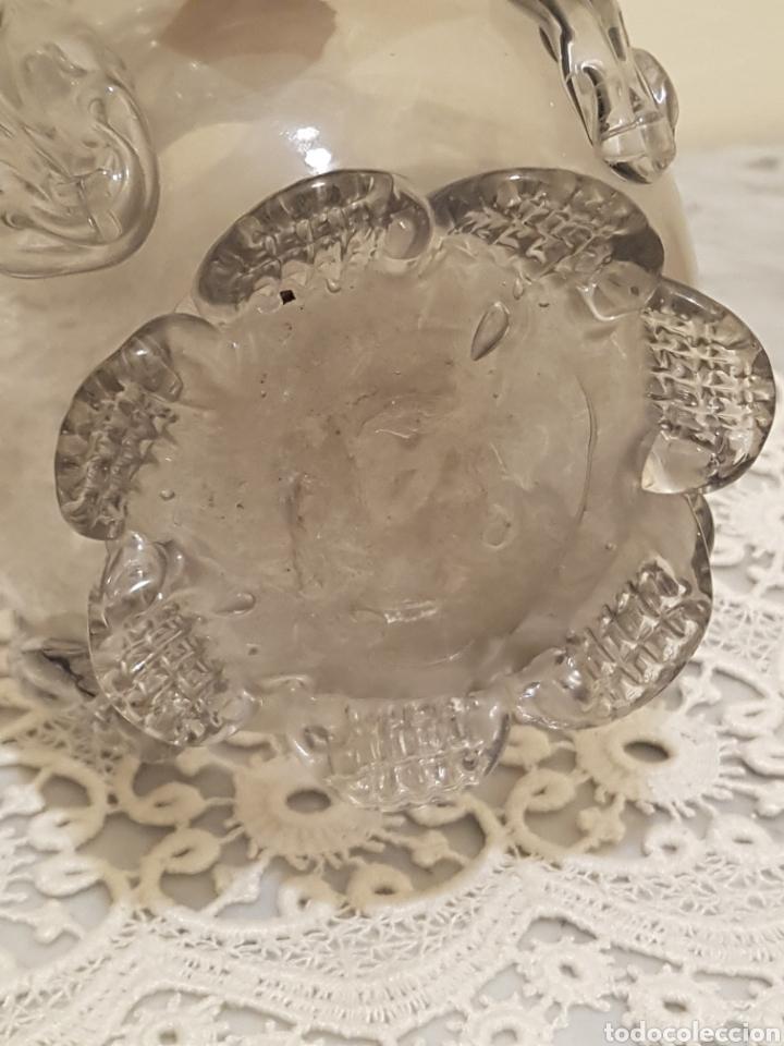 Antigüedades: Jarron cristal catalan soplado - Foto 8 - 161167792