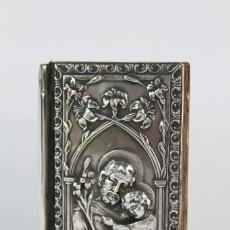 Antigüedades: OFICIO DIVINO - MISAL COMPLETAMENTE EN PLATA 800 - ART NOUVEAU MODERNISTA 1911. Lote 165183494