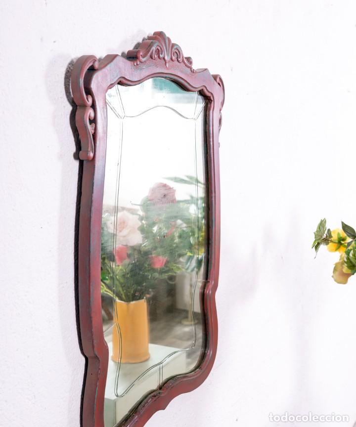 Antigüedades: Espejo Antiguo Restaurado Marius - Foto 4 - 161265750