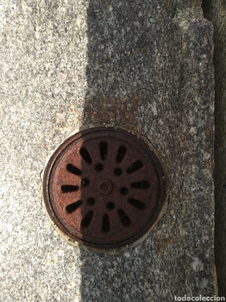 Antigüedades: Preciosa pila de piedra de granito. Fregadero lavabo - Foto 4 - 161326678