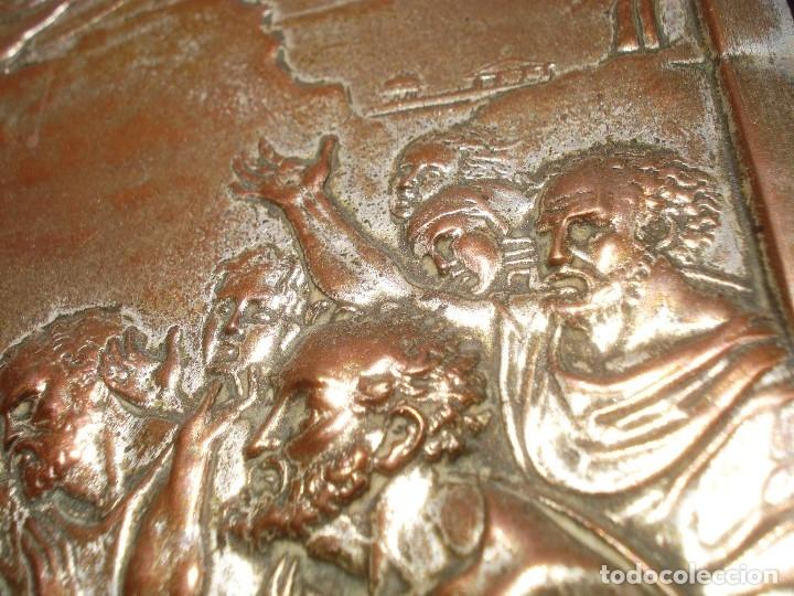 Antigüedades: LA TRANSFIGURACIÓN DE RAFAEL COBRE BAÑADO EN PLATA - Foto 20 - 161375786