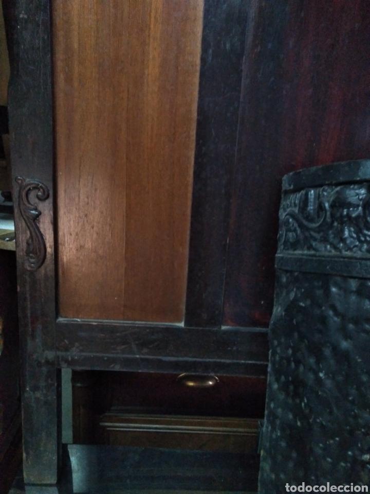 Antigüedades: PARAGUERO PERCHERO SOMBRERERO RECIBIDOR MODERNISTA - Foto 6 - 161376026