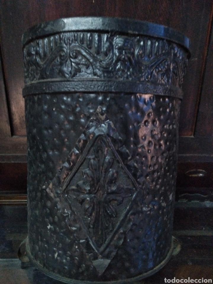 Antigüedades: PARAGUERO PERCHERO SOMBRERERO RECIBIDOR MODERNISTA - Foto 7 - 161376026