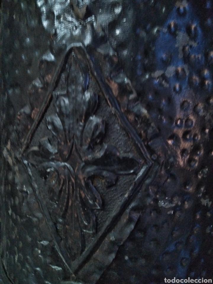 Antigüedades: PARAGUERO PERCHERO SOMBRERERO RECIBIDOR MODERNISTA - Foto 8 - 161376026