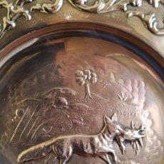Antigüedades: PLATO DE COBRE . Lote 161385170