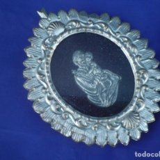 Antigüedades: PRECIOSO RELICARIO DE SAN JOSE CON NIÑO JESUS. Lote 161402950