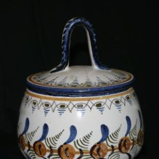Antigüedades: TARRO DE CERÁMICA. Lote 161412626