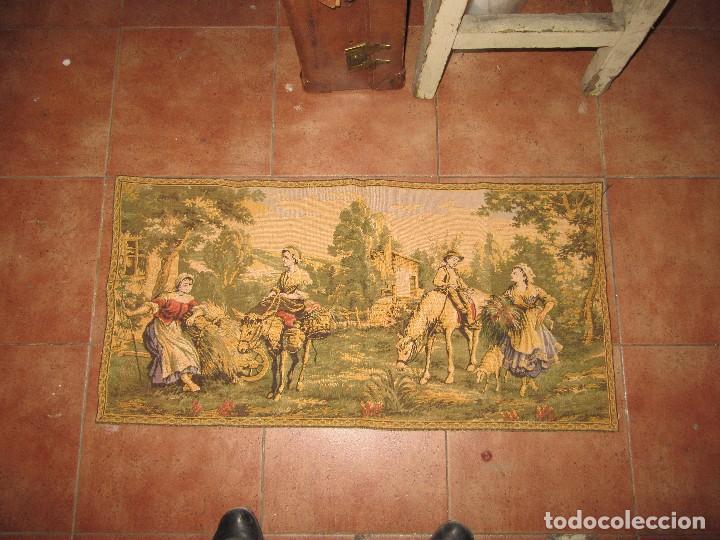 Antigüedades: TAPIZ PEQUEÑO - Foto 3 - 253613555
